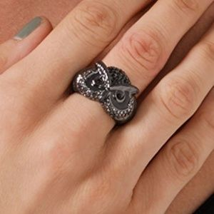 Marc by Marc Jacobs Fantastical Tale Wise Owl Ring